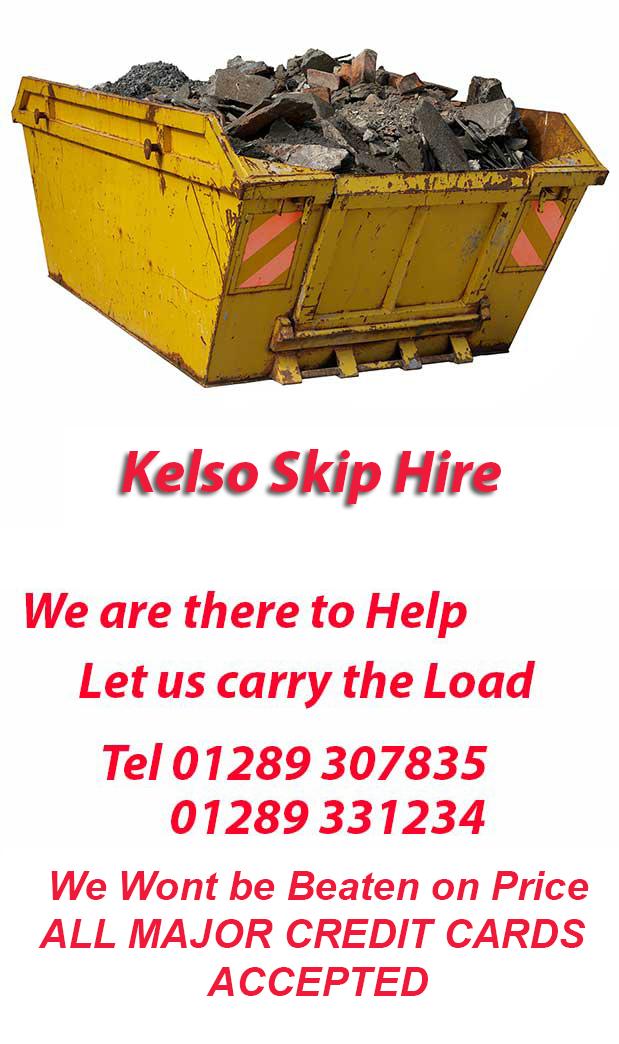 Skip hire Chirnside